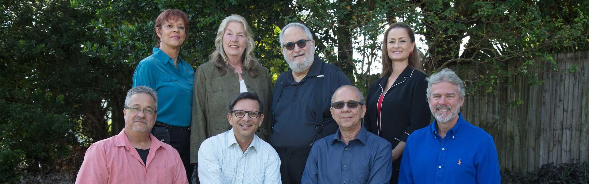 Central Florida Musicians' Association The Board of Directors in Front of Building
